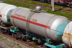 Gas del transporte Fotografía de archivo
