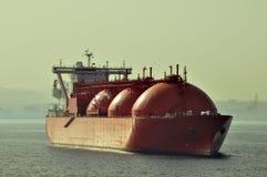 gas den naturliga shipen för lng royaltyfri bild