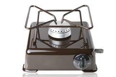 Gas desktop stove Stock Image