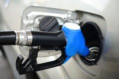 Gas di pompaggio Fotografie Stock Libere da Diritti