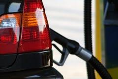 Gas di pompaggio Immagine Stock