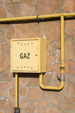 Gas distribution Stock Image