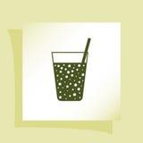 Gas drink cup  icon Stock Photos