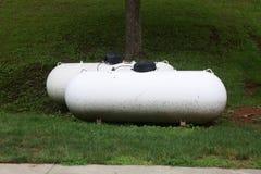 Gas en botella Fotos de archivo