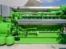 Gas Engine Energy Generator Royalty Free Stock Image