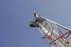Gas-Entlüftungsöffnungs-Aufflackern-Hochkonjunktur Lizenzfreies Stockbild