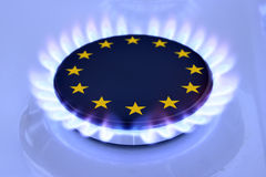 Gas EU Royalty Free Stock Photos