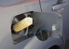 gas för ethanol e85 Fotografering för Bildbyråer