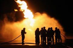 Gas för vätskepropan borrar Arkivbild