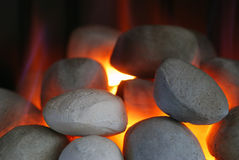 Gas fire Royalty Free Stock Images