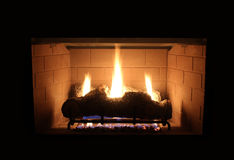 Gas Fire Royalty Free Stock Photo