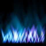 Gas flame. Abstract background like as flame of gas cooker Royalty Free Stock Images