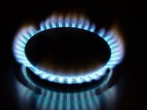 Gas-Flamme Stockbild