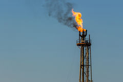 Gas flare Stock Photography