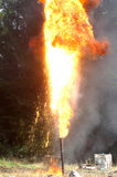 Gas flare Stock Images