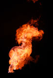 Gas flaring Royalty Free Stock Photos