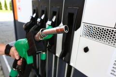 Gas fuel nozzle Stock Image