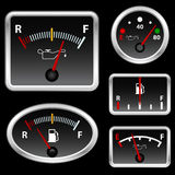 Gas full set vector Royalty Free Stock Image