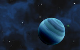 Gas giant Royalty Free Stock Photos