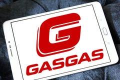 Gas Gas motorcycle manufacturer logo Stock Photo
