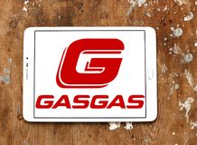 Gas Gas motorcycle manufacturer logo Royalty Free Stock Photography