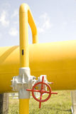 Gas gate Stock Photography