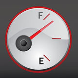 Gas gauge Stock Photography
