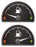 Gas Gauge Royalty Free Stock Image