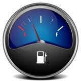 Gas gauge Stock Photo