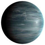 Gas giant planet. The gas giant planet, 3D rendering, isolated, fantasy Stock Image