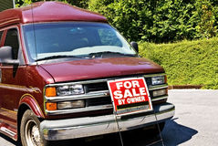 Gas Guzzler For Sale Royalty Free Stock Photography