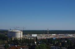 Gas harbor Royalty Free Stock Photo