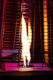 Gas heater for patio Royalty Free Stock Photography