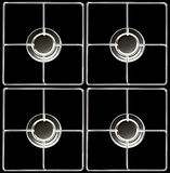 Gas hob Royalty Free Stock Photography