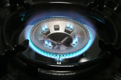 Gas hob Royalty Free Stock Images