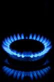 Gas Hob Flames Royalty Free Stock Photos