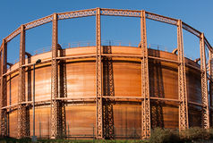 Gas Holder Royalty Free Stock Photography