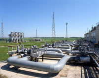 Gas industry Stock Photos