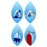 Gas industry-1 Fotos de archivo