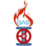 Gas industry-2 del icono Fotografía de archivo