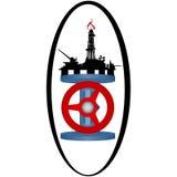 Gas industry-1 del icono Imagen de archivo