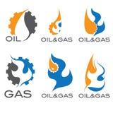 Gas industry iillustration Stock Photography
