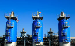 Gas industry Royalty Free Stock Image