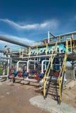 Gas industry. sulfur-refinement Stock Photos