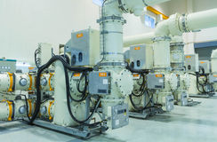 Gas Insulated Switchgear Royalty Free Stock Image
