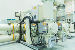 Gas Insulated Switchgear Stock Photo