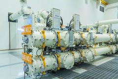 Gas Insulated Switchgear Stock Photography