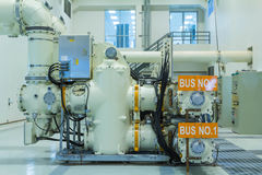 Gas Insulated Switchgear Royalty Free Stock Photography