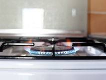Gas kitchen stove Stock Photography