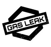 Gas Leak rubber stamp Royalty Free Stock Photography